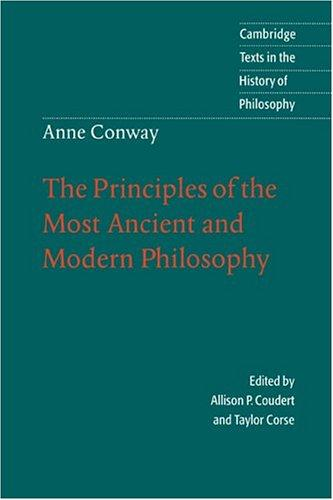 The principles of the most ancient and modern philosophy