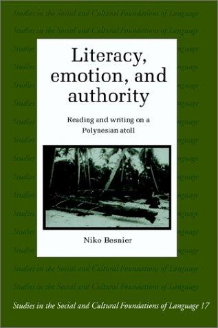 Literacy, emotion, and authority by Niko Besnier