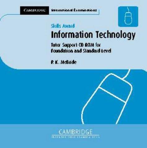 Skills Award in Information Technology