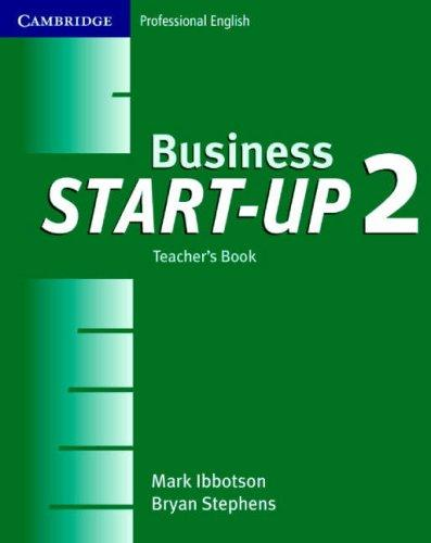 Business start-up 2 by