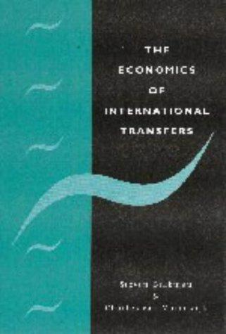 The economics of international transfers by Steven Brakman
