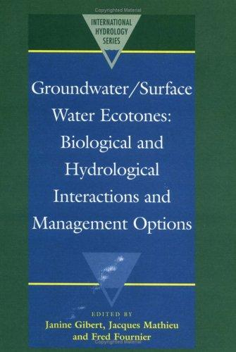 Groundwater/Surface Water Ecotones by
