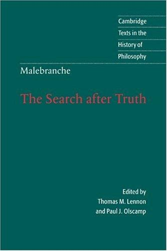 The search after truth