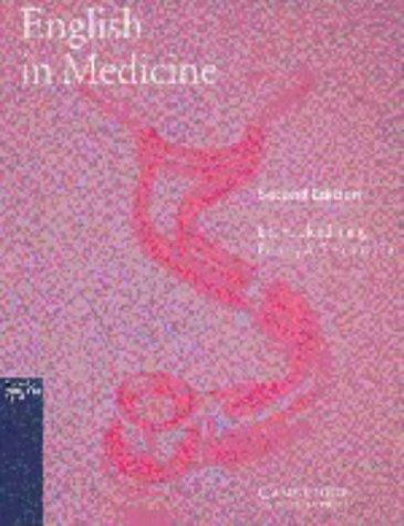 English in Medicine Student's book by Eric H. Glendinning, Beverly Holmstrvm, Beverly A.S. Holmstrom