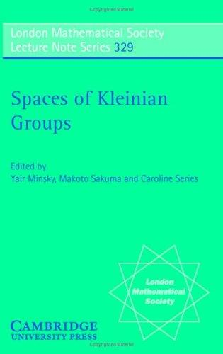 Spaces of Kleinian groups by