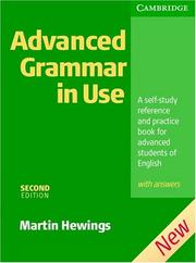 Advanced Grammar in Use 2nd Edition + key