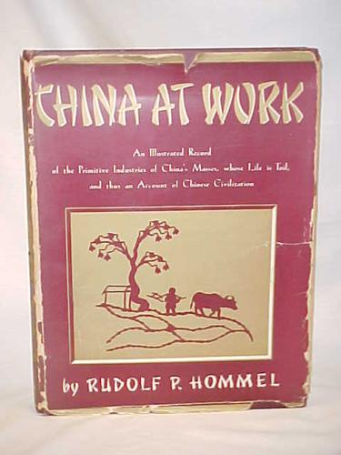 China at work by Rudolf P. Hommel