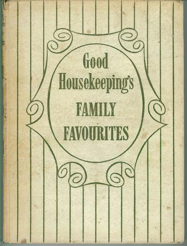 Book of family favourites by Good Housekeeping Institute.