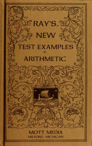 Ray's new test examples in arithmetic by Joseph Ray