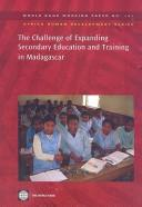 The challenge of expanding secondary education and training in Madagascar by