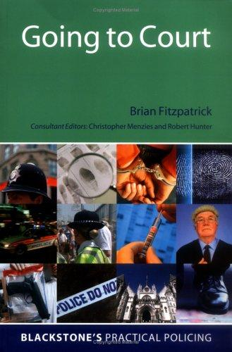 Going to court by Fitzpatrick, Brian.