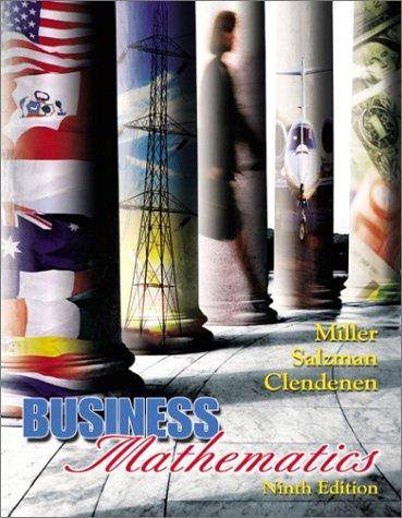 Business mathematics by Charles David Miller