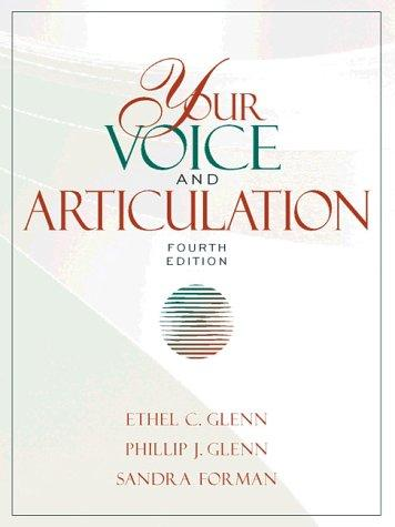 Your voice and articulation
