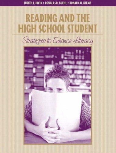 Reading and the high school student by Judith L. Irvin