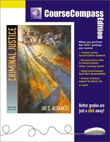 Criminal Justice (CourseCompass Edition) (2nd Edition)