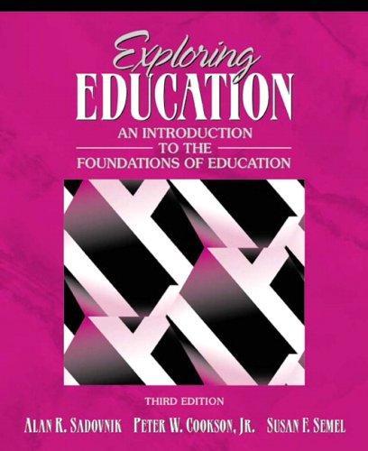 Exploring education