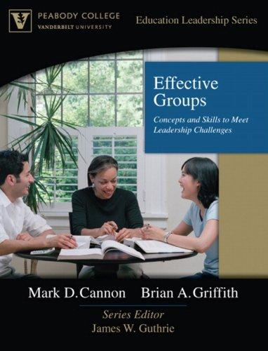 Effective Groups by James W. Guthrie