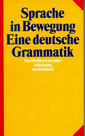 Sprache in Bewegung by Herbert Genzmer