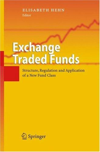 Exchange Traded Funds by Elisabeth Hehn