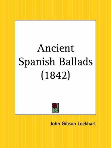 Ancient Spanish Ballads
