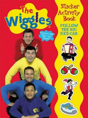 Follow the Big Red Car Wiggles Sticker Activity Book by Modern Publishing