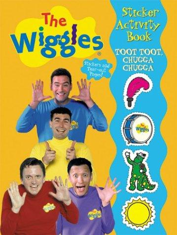 Toot Toot, Chugga Chugga Wiggles Sticker Activity Book by Modern Publishing