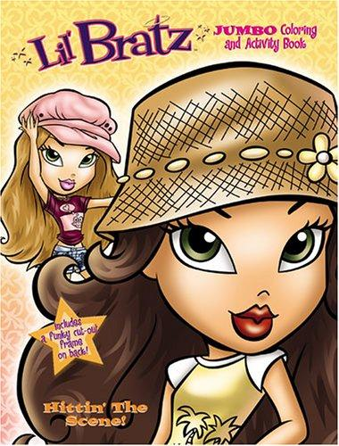 Lil' Bratz Jumbo Coloring Book, Hitting' The Scene!  by Modern Publishing by Modern Publishing