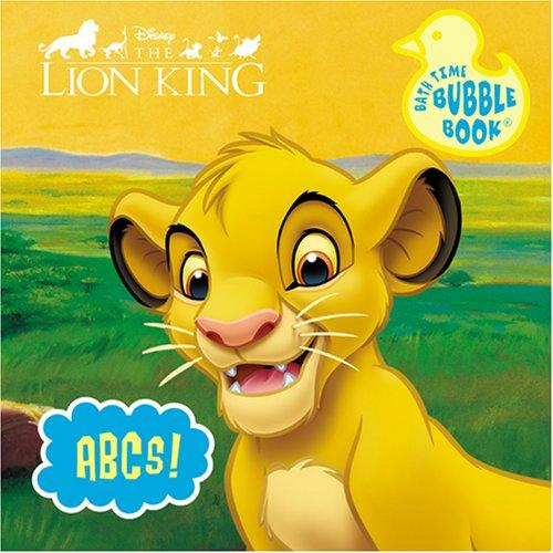 Disney Lion King Bath Book (Disney Bath Time Bubble) by Modern Publishing
