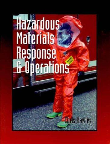 Hazardous Materials Response & Operations (Fire Science Series) by Christopher David Hawley