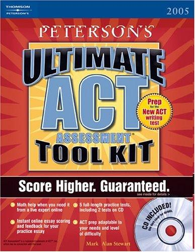 Ultimate ACT Assessment Tool Kit  w/CD-Rom, 1st edition (Act Assessment Success) by Packer, Craig, et al. Bender