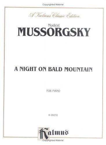 Night on Bald Mountain by Modest Mussorgsky