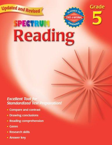 Spectrum Reading, Grade 5 (Spectrum) by School Specialty Publishing