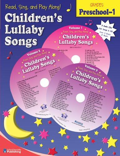 Children's Lullaby Songs (Read, Sing, and Play Along!) by Kim Mitzo Thompson
