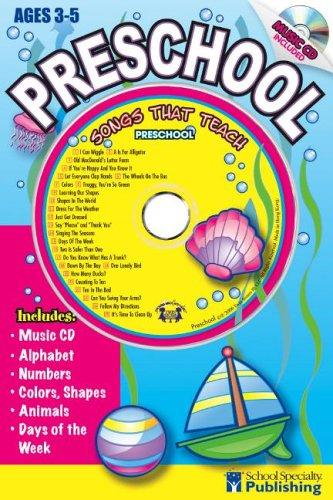 Preschool Sing Along Activity Book with CD by Kim Mitzo Thompson