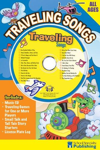 Traveling Songs Sing Along Activity Book with CD (Sing Along Activity Books) by Kim Mitzo Thompson