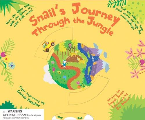 Snail's Journey Through the Jungle (Snails Adventure) by Emma Less