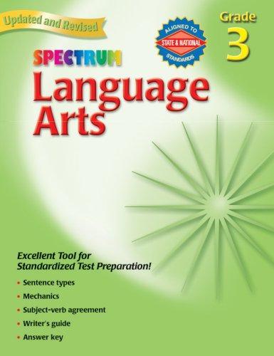 Spectrum Language Arts, Grade 3 (Spectrum)