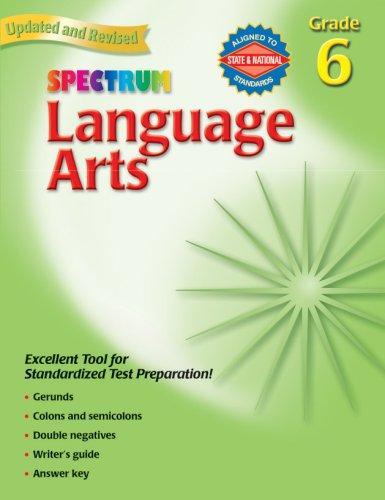Spectrum Language Arts, Grade 6 (Spectrum)