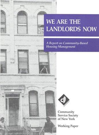 We are the landlords now by Doug Turetsky