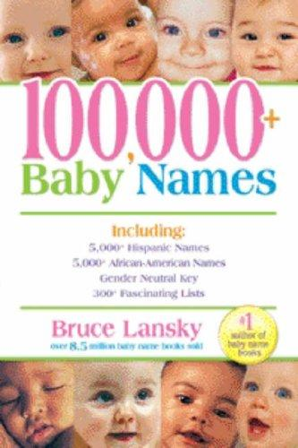 100,000+ baby names
