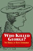 Who killed George? by Cheryl Emily MacDonald