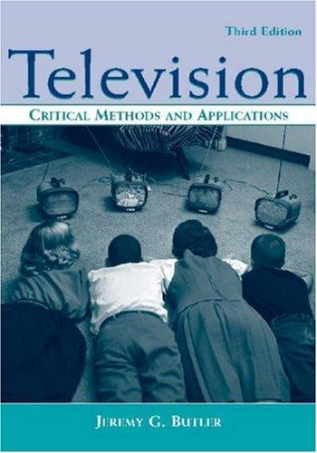 Television by Jeremy G. Butler