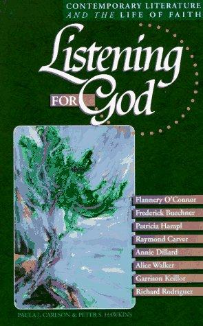 Image 0 of Listening for God, Vol 1: Contemporary Literature and the Life of Faith