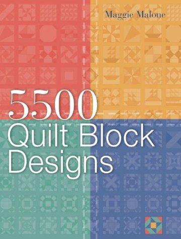 Image 0 of 5,500 Quilt Block Designs