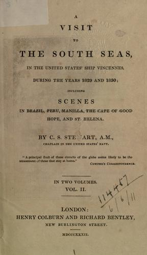 A visit to the South Seas by Charles Samuel Stewart