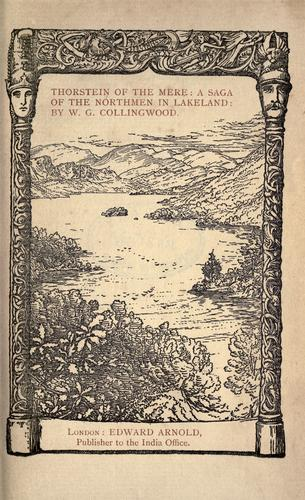 Thorstein of the mere by W. G. Collingwood