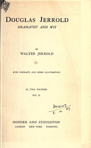 Douglas Jerrold, dramatist and wit.