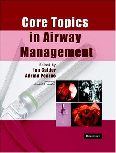 Core topics in airway management by