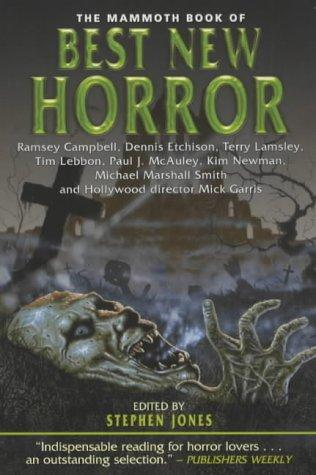 The Mammoth Book of Best New Horror by Stephen Jones