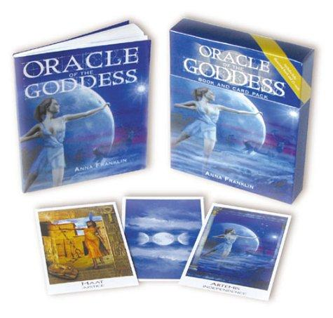 Oracle of the Goddess Book and Card Pack by Anna Franklin